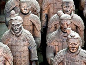Soldats Qin de l'armée de terre cuite